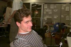 Matt in a silly mood.