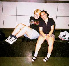 Tanya and Laura