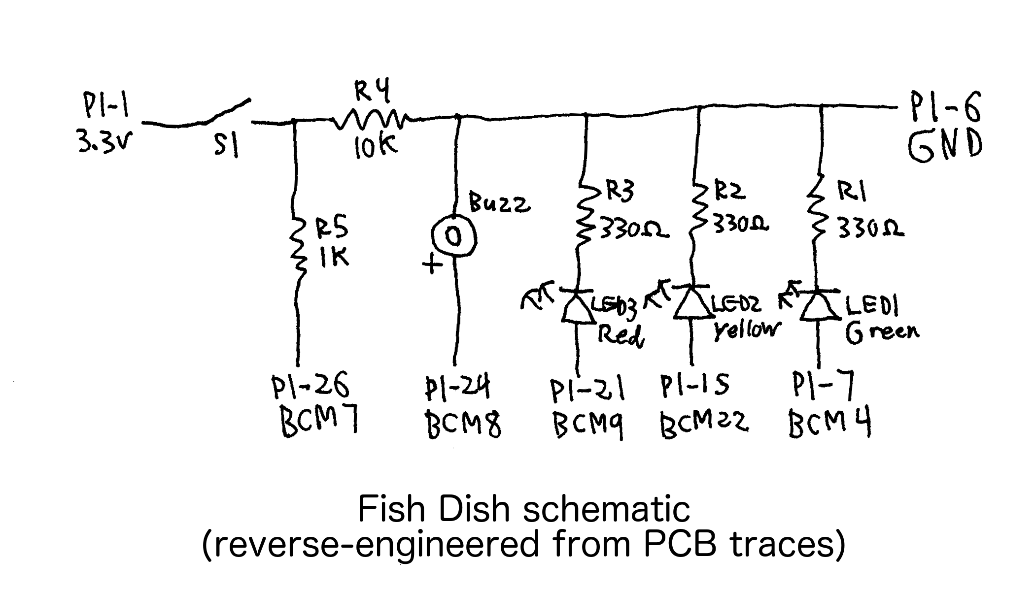 Fish Dish schematic